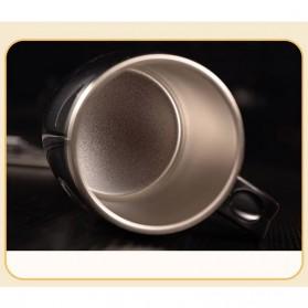 Gelas Mug Insulated Stainless Steel Model Cat - 420ml - Black - 3