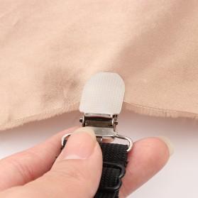GCDHome Penjepit Ujung Sprei Kasur Bed Sheet Clip Holder 4 PCS - FS-1809 - Black - 6