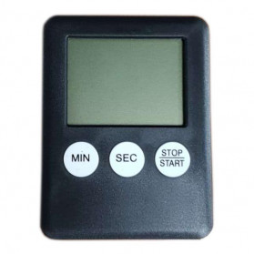 Yoiheng Mini Timer Digital Dapur - 704AAB - Black