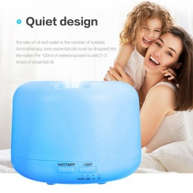 Taffware Air Humidifier Aromatherapy Oil Diffuser + 7 LED - HUMI H770 - White - 5