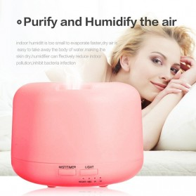 Taffware Air Humidifier Aromatherapy Oil Diffuser + 7 LED - HUMI H770 - White - 6