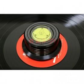 Universal Turntable LP Disc Stroboscope Stabilizer 50/60Hz - Black