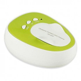Mini Ultrasonic Contact Lens Cleaner - CE-3200 - Green