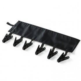 Hanger Gantungan Baju Serbaguna - Black