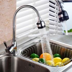 Kepala Keran Air Dapur Flexible Kitchen Shower Hot & Cold - Silver - 2
