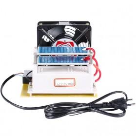 Ozonizer DIY Ozone Generator 10g/h with Fan Air Sterilization Purifier 110V - White