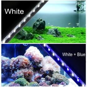 Lampu LED Strip Aquarium 38cm - White Blue Light - White/Blue - 2