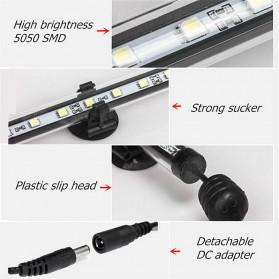 Lampu LED Strip Aquarium 38cm - White Blue Light - White/Blue - 8