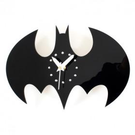 Jam Dinding Quartz Creative Design Model Batman - NS002 - Black