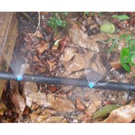 Water Mist Sprinkler Drip Irigasi Air Taman Simple Nozzle 90 Degree 10 PCS - Blue - 6