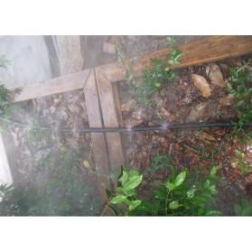 Water Mist Sprinkler Drip Irigasi Air Taman Simple Nozzle 90 Degree 10 PCS - Blue - 8
