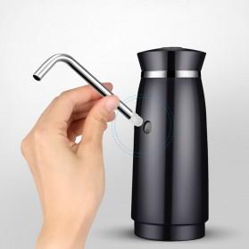 Pompa Elektrik Air Minum Galon Rechargeable 1200mAh - B1 - Black - 7