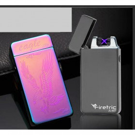 Firetric Korek Api Elektrik Pulse Plasma Arc USB Lighter - JL-607 - Black - 2
