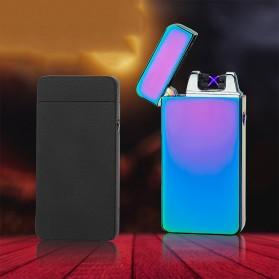 Firetric Korek Api Elektrik Pulse Plasma Arc USB Lighter - JL-607 - Black - 6