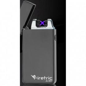 Firetric Korek Api Elektrik Pulse Plasma Arc USB Lighter - JL-607 - Black - 10