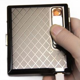 Korek Api Elektrik Lighter Box Rechargeable - Black