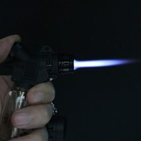 Mancis Korek Api Gas Butane Welding Pocket Torch Flamethrower - MF213 - Transparent - 6