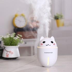 Taffware Cute Pet Humidifier 3 in 1 + LED Light + USB Fan - HUMI H1 - Blue - 5