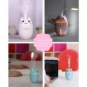 Taffware Cute Pet Humidifier 3 in 1 + LED Light + USB Fan - HUMI H1 - Blue - 7