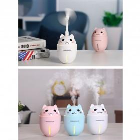 Taffware Cute Pet Humidifier 3 in 1 + LED Light + USB Fan - HUMI H1 - Blue - 9