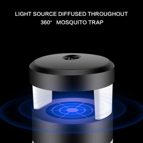 Pembasmi Nyamuk UV LED Photocatalyst Mosquito Repellent 5W - XY806 - Black - 3