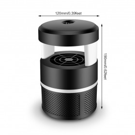 Pembasmi Nyamuk UV LED Photocatalyst Mosquito Repellent 5W - XY806 - Black - 5