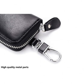 Dompet Gantungan Kunci Mobil Desain Klasik - 9092 - Black - 6