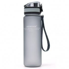 Botol Minum Portable Protein Shaker 500ml - Gray