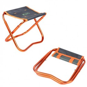 Kursi Lipat Portabel Serbaguna - Orange