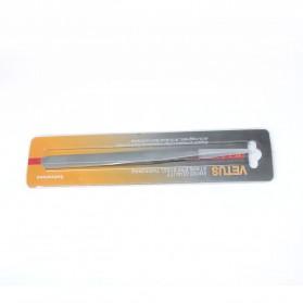 VETUS Pinset Bulu Maya Eyelash Tweezer - 27-SA - Silver