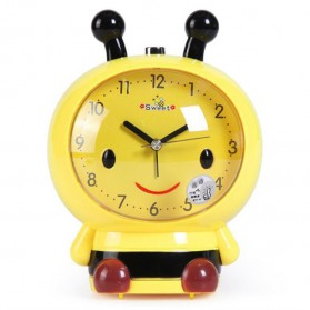 Jam Meja Analog Model Bee Lebah - Yellow