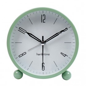 Jam Meja Analog Model Simple Minimalist - Green