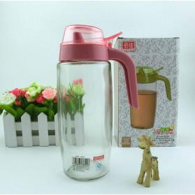 Botol Minyak Serbaguna Seasoning Glass Jar 550ml - ZL2017 - Mix Color