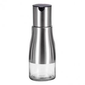 Toples & Tempat Bumbu Dapur - Botol Minyak Olive Oil Stainless Steel 320ml - Black