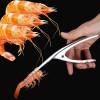 Gunting Dapur - Gunting Pengupas Kulit Undang Shrimp Prawn Peeler - SUS 304 - Silver