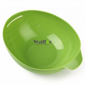 Mangkok Penutup Steamer Microwave Silicone Bowl Cooker - Green - 10