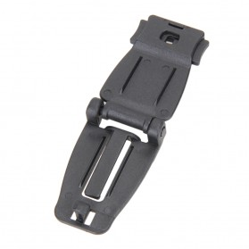 Buckle Clip Strap Backpack Webbing Connection Military 5 PCS - HW1099 - Black - 8