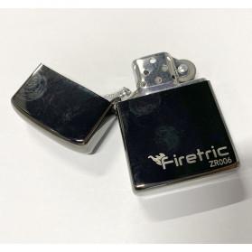 Firetric Korek Api Minyak Tanah Model Minimalis - ZR006 - Silver - 2