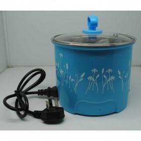 Panci Listrik Stainless Steel 1.6L 450W - Blue - 3