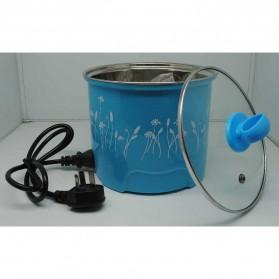 Panci Listrik Stainless Steel 1.6L 450W - Blue - 4