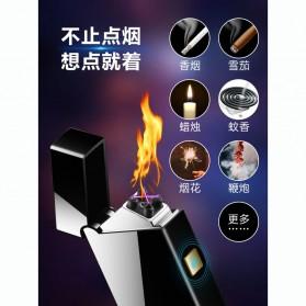 Taffware Korek Api Double Arc Pulse Plasma USB Lighter - DSK-2S - Black - 7