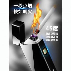 Taffware Korek Api Double Arc Pulse Plasma USB Lighter - DSK-2S - Black - 8