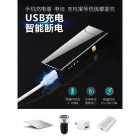 Firetric Korek Api Double Arc Pulse Plasma USB Lighter - DSK-2S - Black - 9