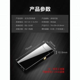 Taffware Korek Api Double Arc Pulse Plasma USB Lighter - DSK-2S - Black - 10