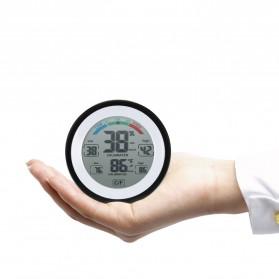Meterk Digital Thermometer Hygrometer Min Max Value - CJ-3305F - Black - 2