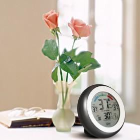 Meterk Digital Thermometer Hygrometer Min Max Value - CJ-3305F - Black - 5