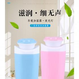 Taffware USB Humidifier Mobil Flower Style 250ml - HUMI MX-001 - Blue - 2