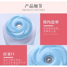 Taffware USB Humidifier Mobil Flower Style 250ml - HUMI MX-001 - Blue - 6