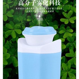 Taffware USB Air Humidifier Aromatherapy Oil Diffuser Mobil Flower Style 250ml - HUMI MX-001 - Blue - 9