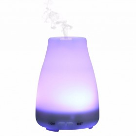 Lampu Malam / Lampu Tempat Tidur - Air Humidifier Aromatherapy Night Light LED 120ml - White